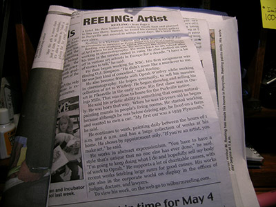 Wilbur M Reeling Abstract Artist, In the News Herald - page 2 - May 2018