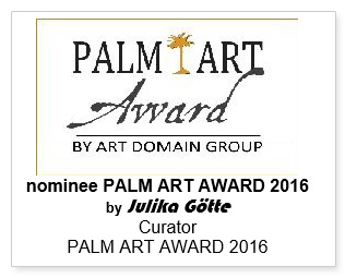 Palm Art Award by Art Domain Group nominee by Julika Gotte